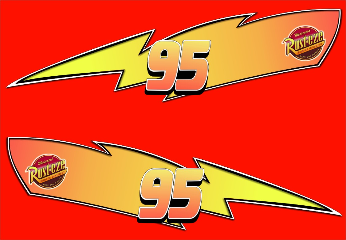 graphic regarding Lightning Mcqueen Printable Decals called Lightning Mcqueen Decals - Lighting Design and style Recommendations